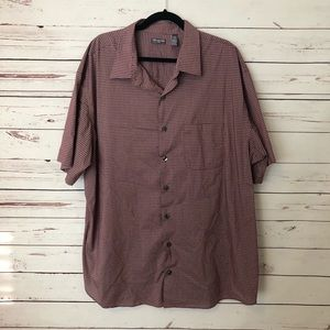 NWOT mens Van Heusen short sleeve button up